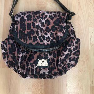 Juicy Couture Malibu Leopard Nylon Diaper Bag